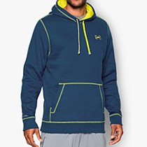 Under Armour CC Storm Rival Hoodie Blue/ Grey