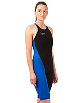 Speedo LZR Elite 2 Kneeskin V2 Women's Black/ Blue