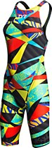 TYR Avictor Prelude Women's Open Back Swimsuit Black/ Multi