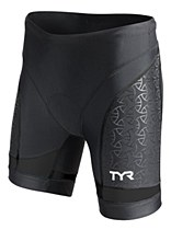 TYR Womens Comp 6 Tri Short Black