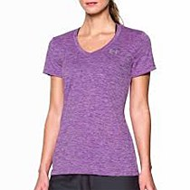 Under Armour Tech SS Women's Purple