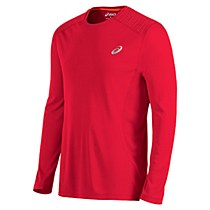 Asics Lite Show Long Sleeve Top Red