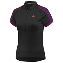Adidas Response Short Sleeve Jersey Black/ Purple