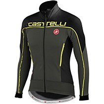 Castelli Mortirolo 3 Jacket Grey/ Lime