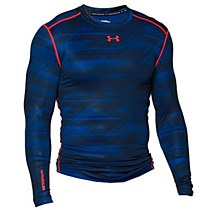 Under Armour Printed Compression Navy