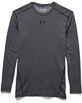 Under Armour Compression Crew Charcoal