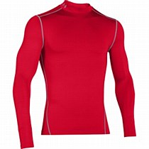 Under Armour Compression Mock Red