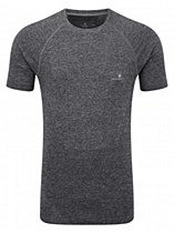Ronhill Advance Cool-Knit Short Sleeve Grey