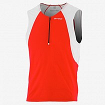 Orca Men's Core Tri Jersey 2014 Red/ White