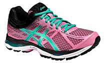 Asics Gel Cumulus 17 Women's Pink/ Green