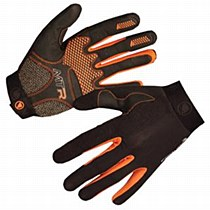Endura MTR Full Finger Glove Black/ Orange