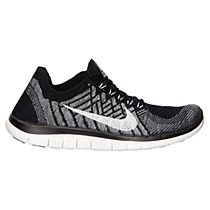 Nike Women's Free 4.0 Flyknit Black/ Grey