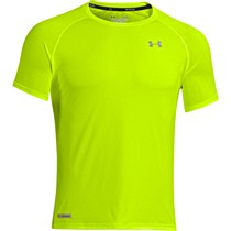 Under Armour Flyweight Run Short Sleeve Tee Yellow/ Grey