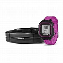Garmin Forerunner 25 Bundle Black/ Purple