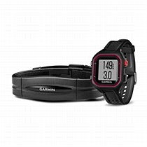 Garmin Forerunner 25 Bundle Black/ Red