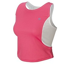 WS TRI TOP Hot Pink/White
