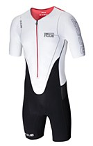 Huub DS Tri Suit Short Sleeved White/ Black