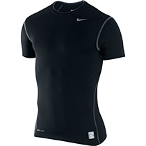 Nike Pro Short Sleeve Tight Crew Black