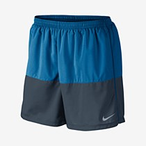 "Nike 5"" Distance Shorts Blue/ Grey"