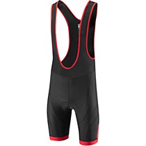 Madison Peloton Bib Shorts Black/ Red
