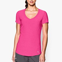 Under Armour Perfect Pace Tee Purple
