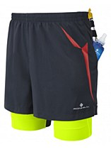 Ronhill Trail Fuel Twin Short Black/Green