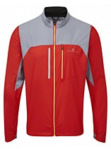 Ronhill Advance Windlite Jacket Red/ Grey
