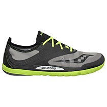 Saucony Hattori Grey/ Black/ Citron