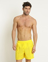 "Speedo Mens Scope 16"" Pool Watershort S Yellow/ WhiteL"