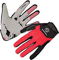 Endura Singletrack Plus Glove Red