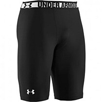 Under Armour HeatGear Sonic Long Compression Short Black/ White