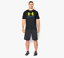 Under Armour Sportstyle Tee Black