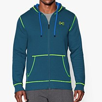 Under Armour CC Storm Rival Full Zip Green