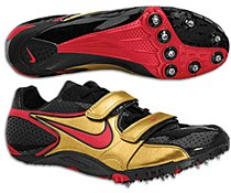 Nike Zoom Superfly R2 Black/ Red/ Gold 11.5