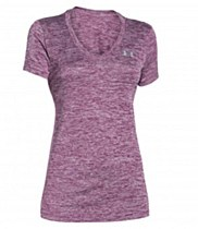 Under Armour Tech Short Sleeve Women's Purple