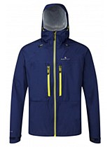 Ronhill Tempest Jacket Blue/ Yellow