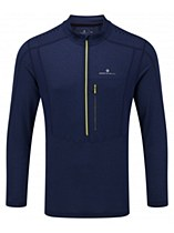 Ronhill Trail Long Sleeve Zip Navy