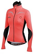 Castelli Transparente Womens Jersey Coral