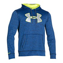 Under Armour Big Logo Hoodie Blue