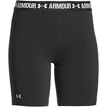 Under Armour Women's Heat Gear Long Shorts Black
