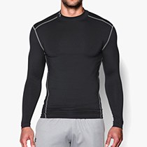 Under Armour Compression Mock Hyper Black