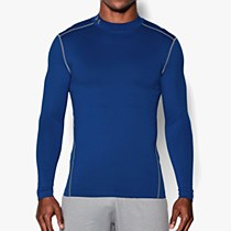 Under Armour Compression Mock Hyper Royal