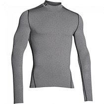 Under Armour Compression Mock Grey