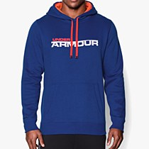 Under Armour Storm Rival Graphic Hoodie Blue