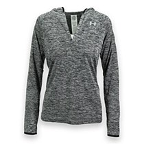Under Armour Long Sleeve Hooded Henley Black