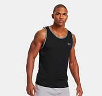 Under Armour Tech Tank Black/ Grey