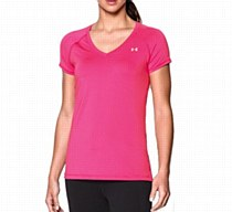 Under Armour Heat Gear Armour Short Sleeve Pink