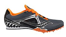 Saucony Velocity 5 Grey/ Orange