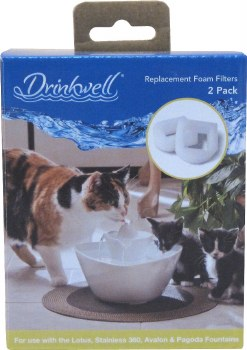 Drinkwell - Foam Fountain Pre-Filters - 360 - 2 pack