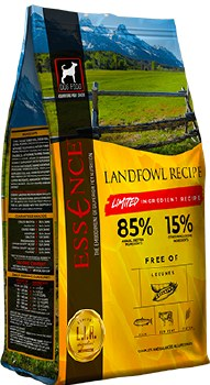 Essence - Limited Ingredient Recipe Landfowl - Dry Dog Food - 25 lbs